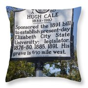 Nc-a80 Hugh Cale 1835-1910 Throw Pillow