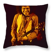 Neal Schon Special Guest With Ronnie Montrose Of Gamma Throw Pillow