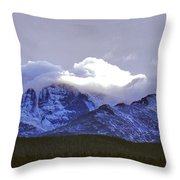 Near Heaven Throw Pillow