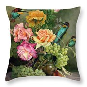 Near To The Evening  Throw Pillow