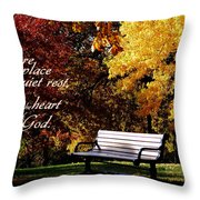 Near To The Heart Of God Throw Pillow