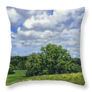 Nearly September Throw Pillow