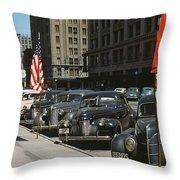Nebraska Lincoln, 1942 Throw Pillow