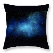 Nebula Mural Throw Pillow