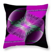 Nebulous 2 Throw Pillow by Angelina Vick