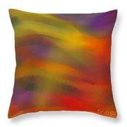Nebulous Throw Pillow by ME Kozdron