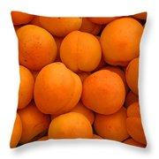 Nectarines Throw Pillow