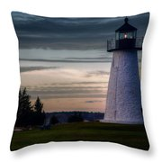 Ned's Point Light Throw Pillow