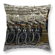 Need A Ride Throw Pillow