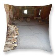 Need More Firewood Throw Pillow
