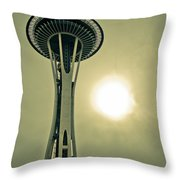 Needle In A Cloud Stack Throw Pillow