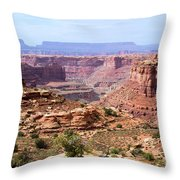 Needles Grand Canyon Throw Pillow by Adam Jewell