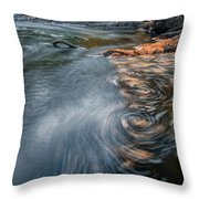 Needles In Motion Throw Pillow