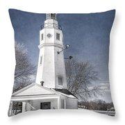 Neenah Lighthouse Throw Pillow