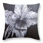 Negative Essence Throw Pillow