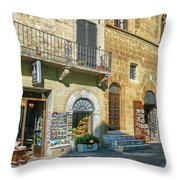 Negozi Toscani Throw Pillow