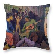 Negro Spritual, 1959 Throw Pillow