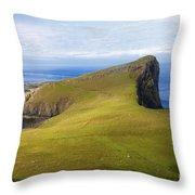 Neist Point  Throw Pillow by Diane Macdonald