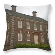 Nelson House Yorktown Throw Pillow