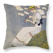 N'en Dites Rien Throw Pillow