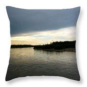 Nenana River Throw Pillow