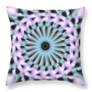 Neo Liquid Sky K1 Throw Pillow