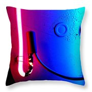 Neon Glow 2 Throw Pillow