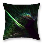 Neon In The Dark Throw Pillow