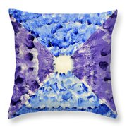 Neonspur Throw Pillow