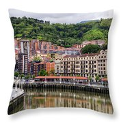 Nervion Throw Pillow