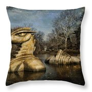 Nessie Grand Rapids Darling Throw Pillow