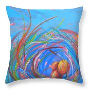 Nest Of Prosperity 11 Throw Pillow