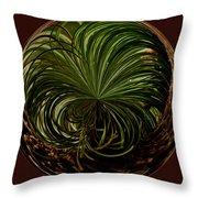 Nesting Pine Orb Throw Pillow