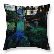 Net Worth Throw Pillow