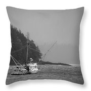 Nets Down Throw Pillow