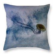 Nettlesphere Throw Pillow