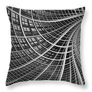 Network II Throw Pillow