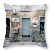 Neukirchen Markt Throw Pillow