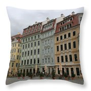 Neumarkt - Dresden - Germany Throw Pillow