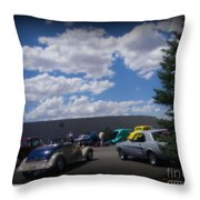 Nevada Blue Sky Throw Pillow