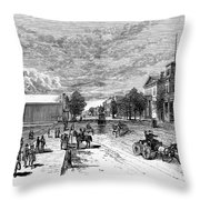 Nevada Carson City Throw Pillow