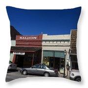 Nevada City California Throw Pillow
