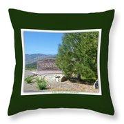 Nevada Landmark Throw Pillow
