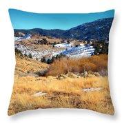 Nevada Landscape Throw Pillow
