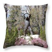 Nevada Miners Adolph Sutro 4 Throw Pillow