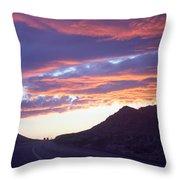 Nevada Skies Throw Pillow