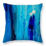 Never Alone By Sharon Cummings Throw Pillow