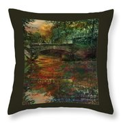 Never Came Back Throw Pillow