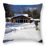 Never Done Throw Pillow