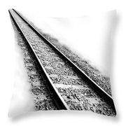 Never Ending Journey Throw Pillow